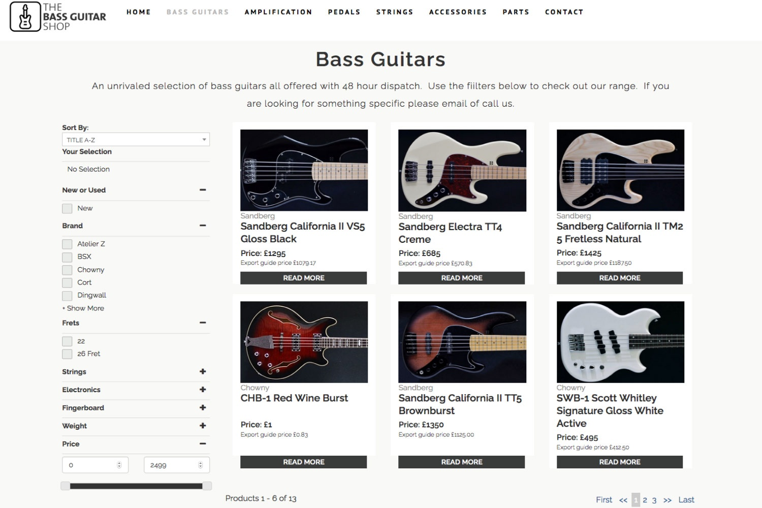 the bass gallery 1